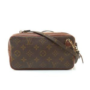 Auth Louis Vuitton Marly Bandouliere #7861V19